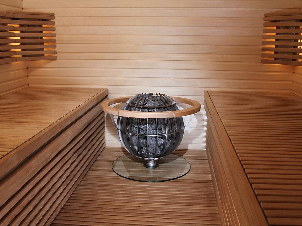 Печка за сауна на ток глобус