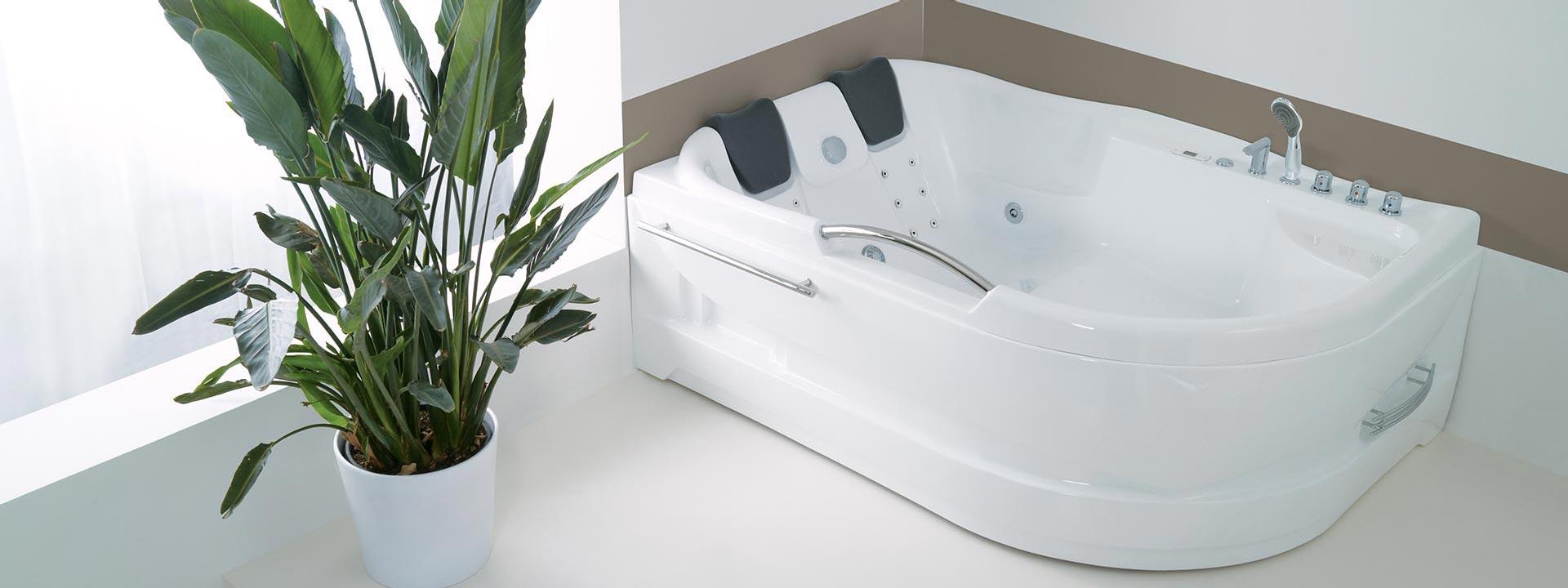 """Луксозни вани за двама с уникален масаж """"Dublo"""""""