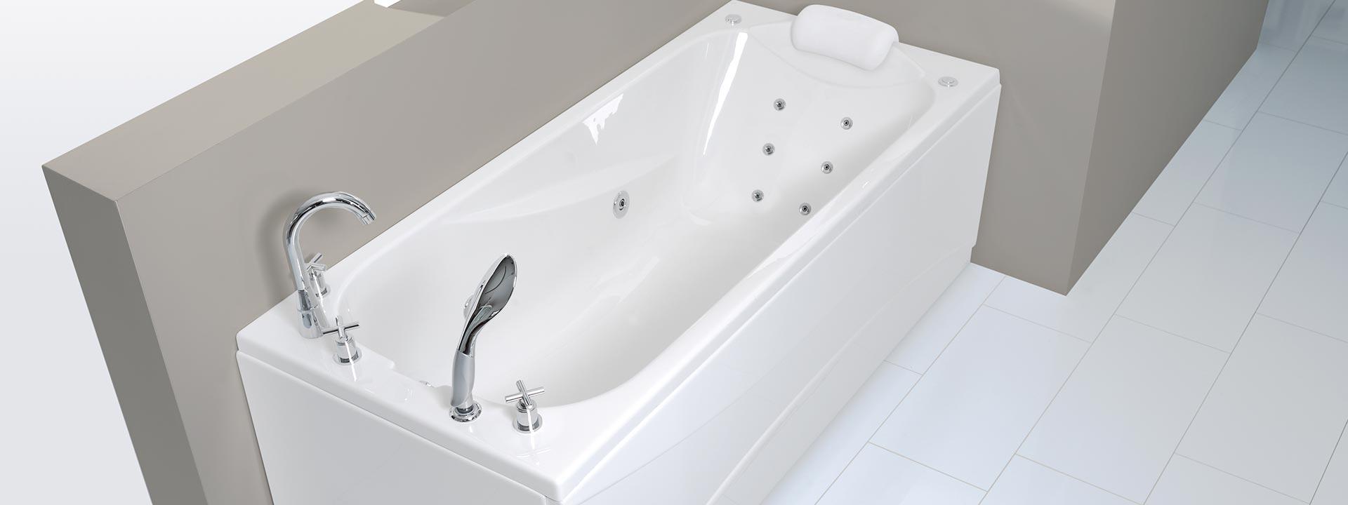 """Евтина Вана за баня с аеро и хидромасаж """"Lizzi"""""""